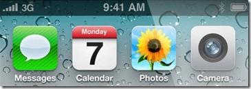 iphone 4 signal bars