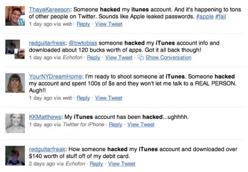 itunes hacked
