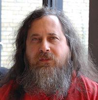 Richard Stallman at DTU in Denmark 2007/03/31